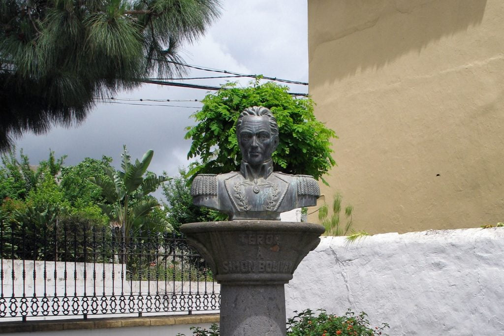 Simon Bolivar Bust